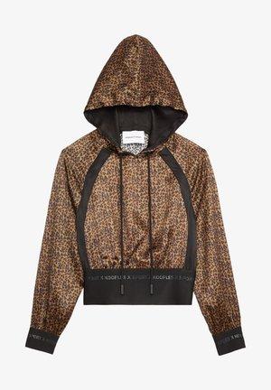 Hoodie - leopard