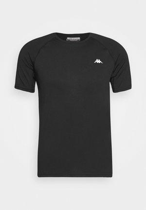 HADRIAN TEE - T-Shirt print - caviar