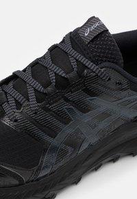 ASICS - GEL TRABUCO 9 G-TX - Zapatillas de trail running - black/carrier grey - 5