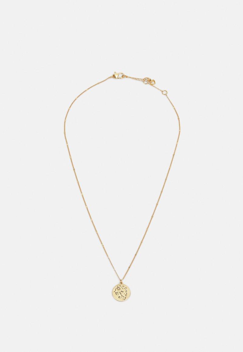 kate spade new york - LEO PENDANT - Necklace - gold-coloured