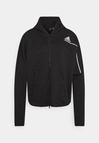 adidas Performance - Zip-up hoodie - black - 3