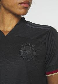 adidas Performance - DFB DEUTSCHLAND A JSY W - Club wear - black - 6
