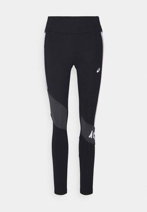 COLOR BLOCK  - Legging - performance black/graphite grey