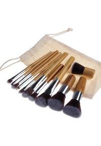 ZOË AYLA - 11 PIECE BAMBOO ECO MAKE-UP BRUSH SET - Pędzel do makijażu - bamboo - 2