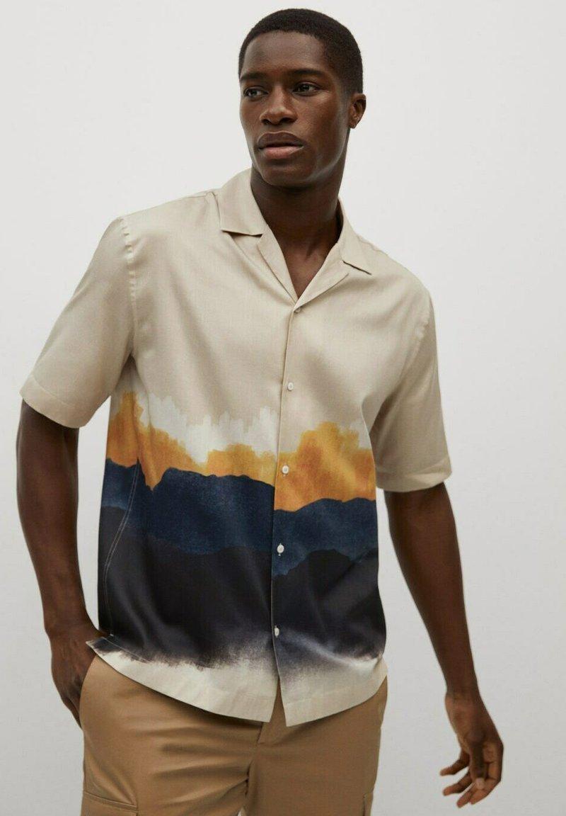 Mango - Shirt - sandfarben