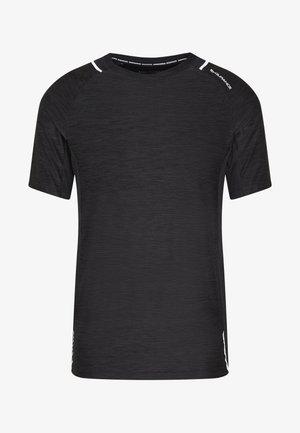 SORONG TECHNICAL TEE - T-shirt con stampa - black melange