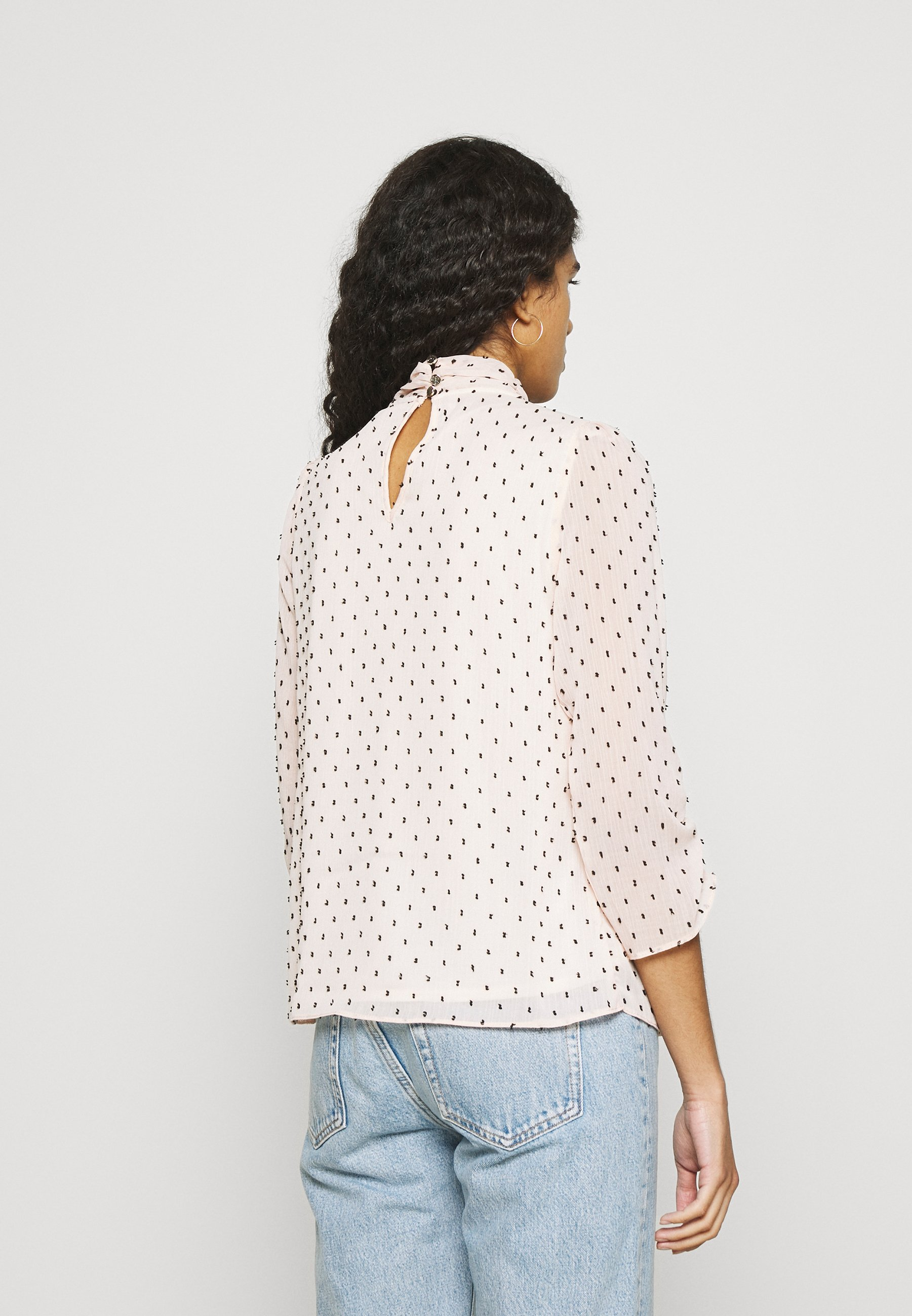 Women BILLIE AND BLOSSOM DOBBY TWIST NECK - Long sleeved top