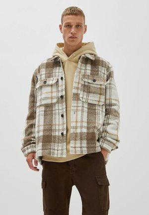 KARIERTE - Light jacket - brown
