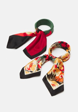 2 PACK - Scarf - multi-coloured/red/orange