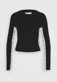 Calvin Klein Jeans - STRIPE LOGO - Jumper - black - 4