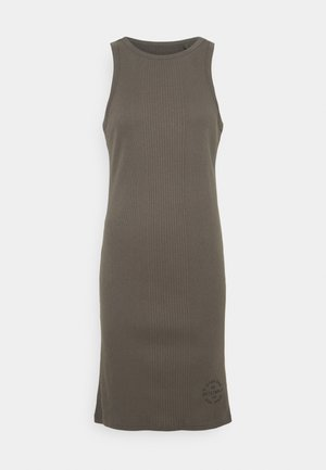 ENGINEERED TANK DRESS - Shift dress - grey