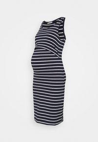 Anna Field MAMA - NURSING - 2 PACK - Jersey dress - Jerseykjole - dark blue/multicoloured - 2