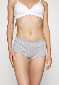 Anna Field - 5 PACK - Underbukse - grey/white - 3