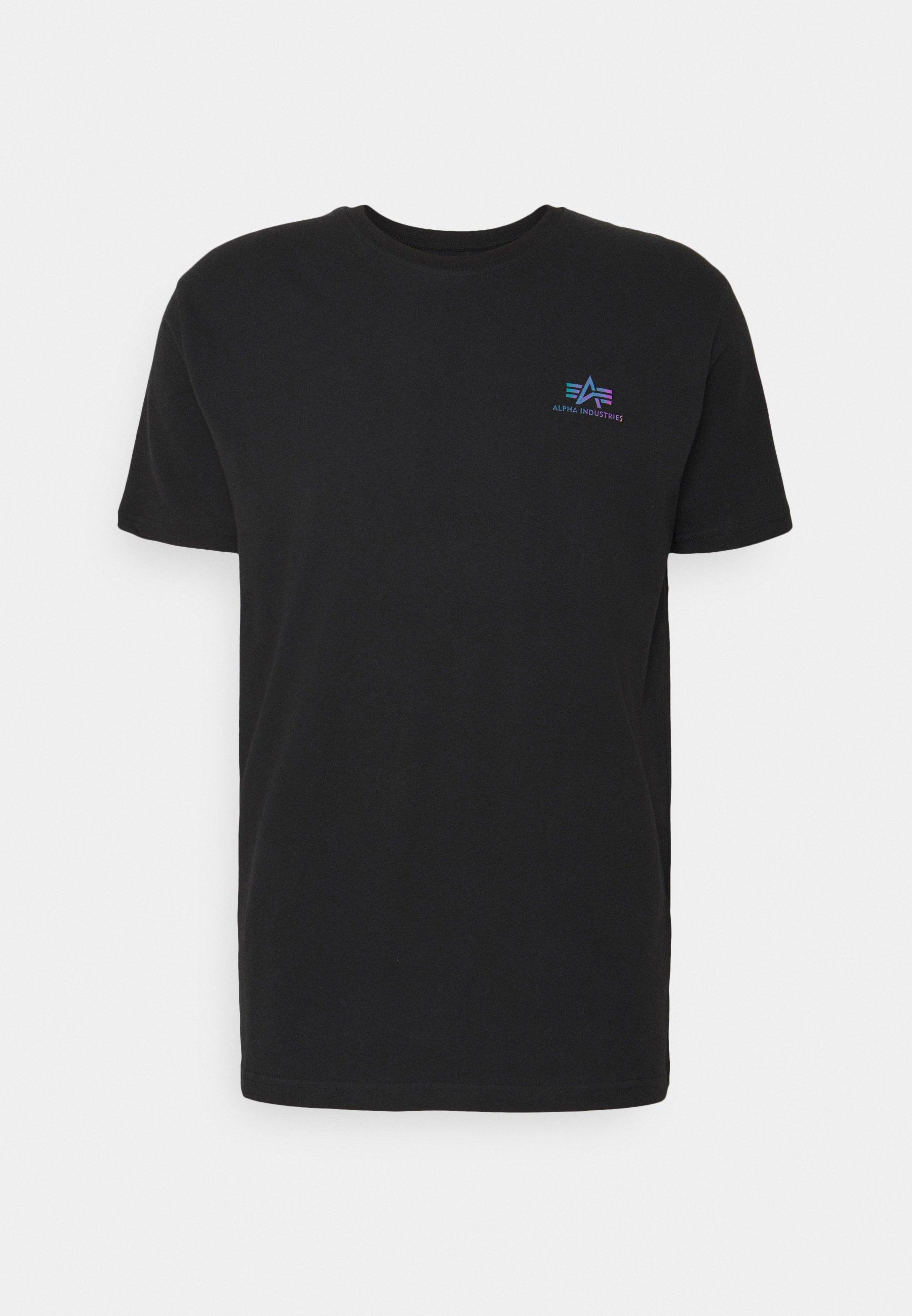 Herren BASIC SMALL LOGO RAINBOW  - T-Shirt print