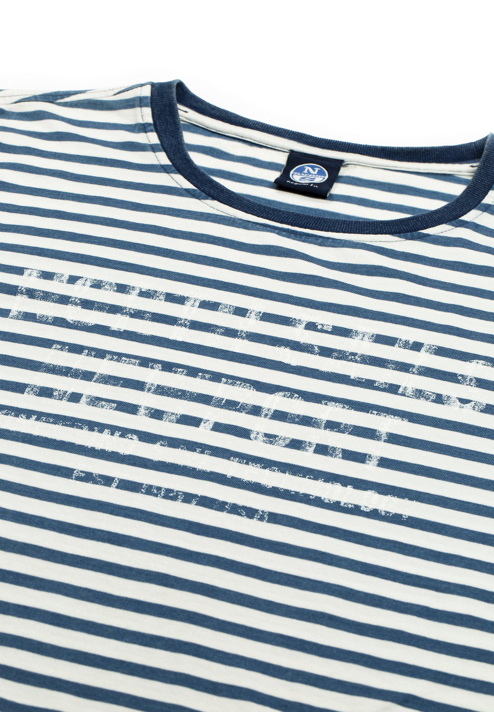North Sails Print T-shirt - white yN08c