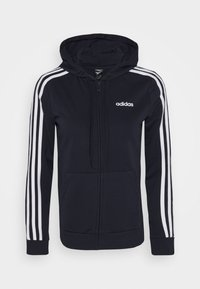 adidas Performance - Zip-up hoodie - legend ink/white - 0