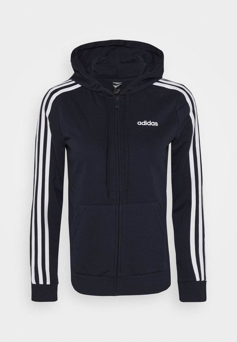 adidas Performance - Zip-up hoodie - legend ink/white