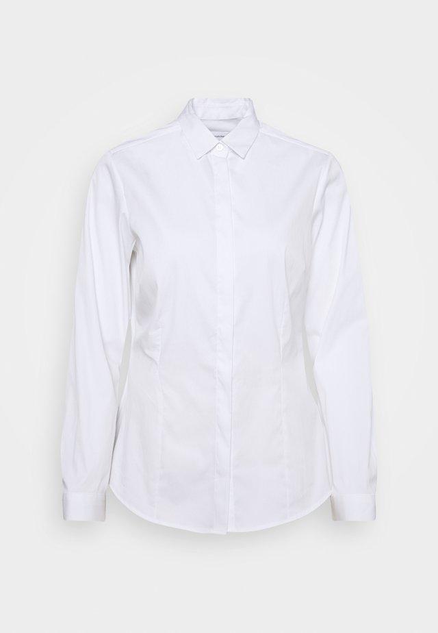 LANGARM - Skjorte - weiß