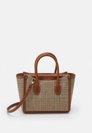 MINI SLOANE SATCHEL SMALL - Handbag - brown multi