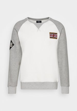 CREW - Sweatshirt - grey/ecru
