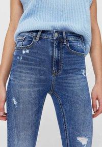 Stradivarius - Jeans Skinny Fit - light-blue denim - 3