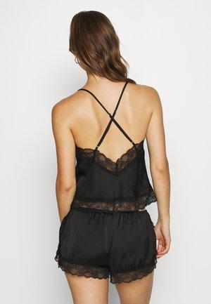 MEILI - Pyjamabroek - black