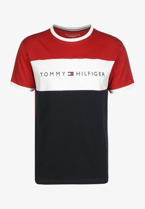 Print T-shirt - primary red