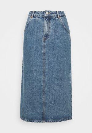 Denim skirt - stone wash