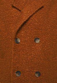 Another Influence - ELIAN TEXTURED OVERCOAT - Classic coat - rust - 2
