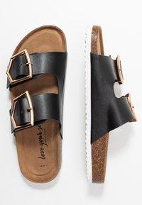 New Look - HALLIE - Slippers - black - 3