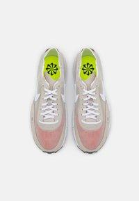 Nike Sportswear - WAFFLE ONE - Zapatillas - cream/white/orange/black - 3