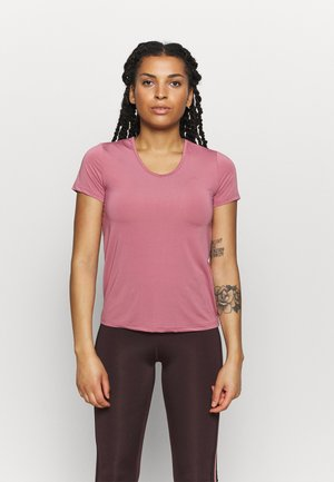ONPBAKO TRAINING TEE - T-Shirt print - mesa rose