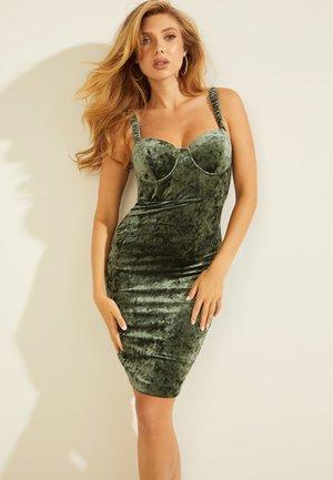 SAMTKLEID - Cocktail dress / Party dress - dunkelgrün