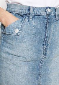 GAP - FOLD OVER SKIRT MALONE - Jupe en jean - blue denim - 4