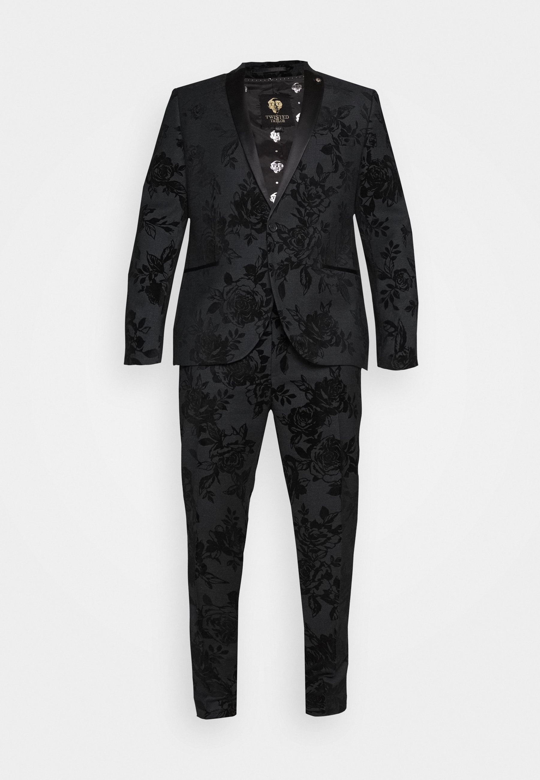 Twisted Tailor MARSHALL SUIT PLUS - Puku - charcoal IP4sO