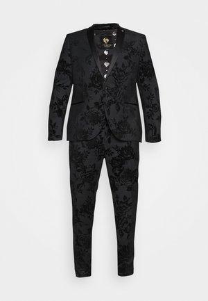 MARSHALL SUIT PLUS - Dress - charcoal