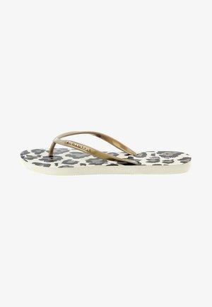 ORIS - Sandály s odděleným palcem - gold