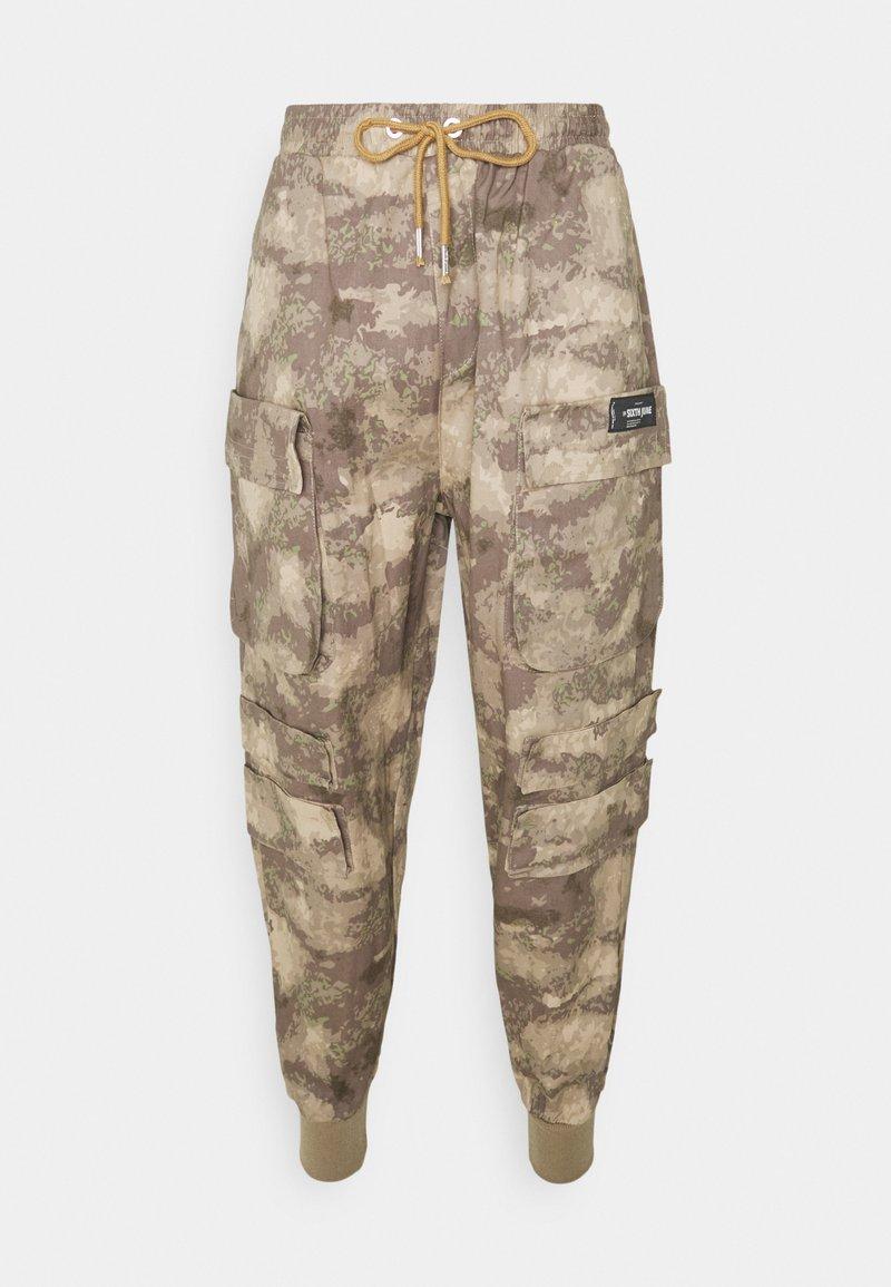 Sixth June - MINIMAL PANTS - Cargo trousers - beige