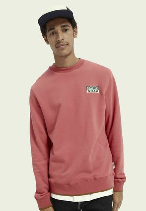 WITH SEASONAL ARTWORKS - Sweater - pink smoothie