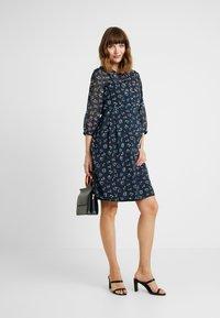 Esprit Maternity - DRESS 3/4 - Sukienka letnia - night blue - 1