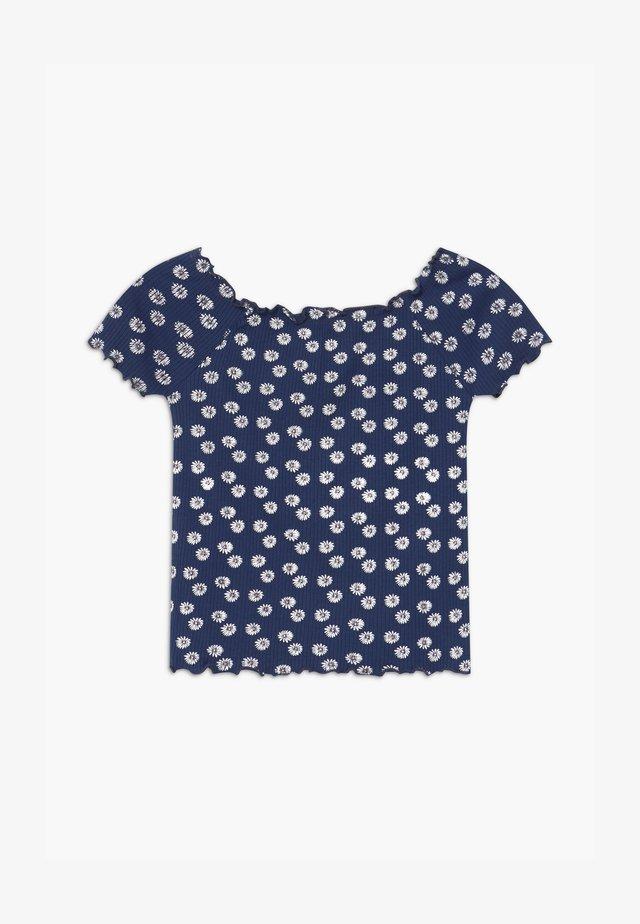TEEN GIRL DAISY - T-Shirt print - dunkelblau