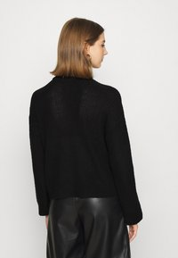 Noisy May - NMSIAN HIGH NECK  - Jumper - black - 2