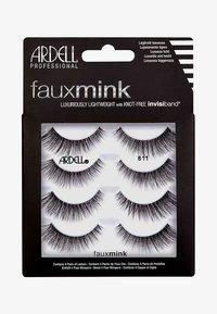 Ardell - FAUX MINK 811 MULTIPACK - False eyelashes - - - 0