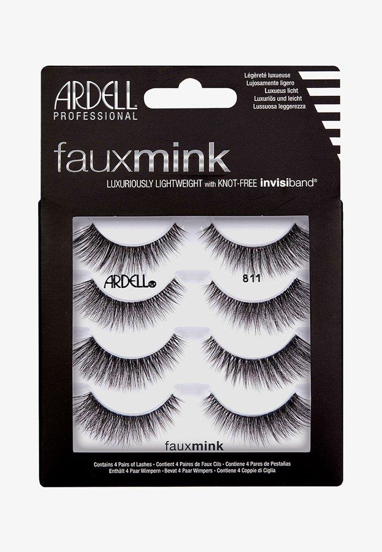 Ardell - FAUX MINK 811 MULTIPACK - False eyelashes - -