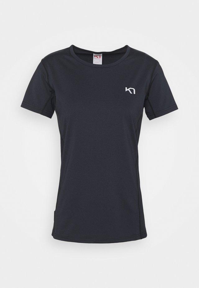 NORA TEE - T-shirts med print - black