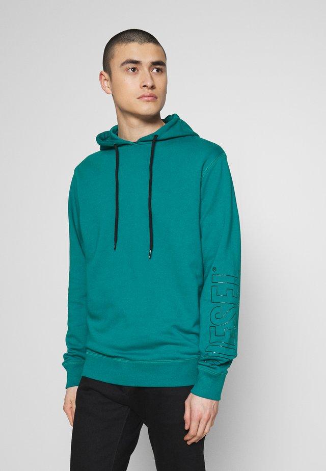 UMLT-BRANDON SWEAT-SHIRT - Felpa con cappuccio - green