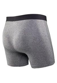 SAXX Underwear - ULTRA TRUNK 2-PACK - Pants - Black/Grey - 4