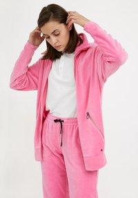 Finn Flare - Zip-up sweatshirt - pink - 0