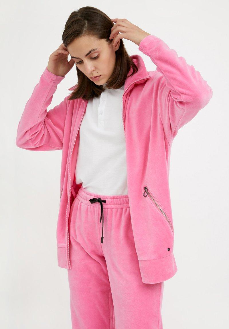 Finn Flare - Zip-up sweatshirt - pink