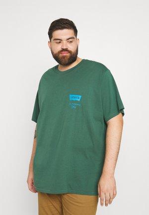 BIG GRAPHIC TEE - Print T-shirt - pine needle